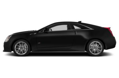 90 Degree Profile 2015 Cadillac CTS-V