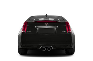 Rear Profile  2015 Cadillac CTS-V