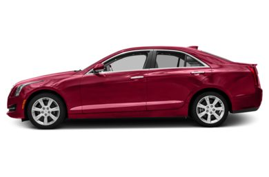 90 Degree Profile 2016 Cadillac ATS