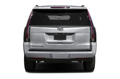 Rear Profile  2015 Cadillac Escalade