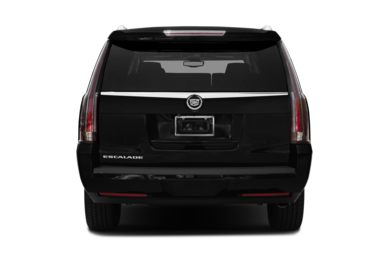 Rear Profile  2015 Cadillac Escalade ESV