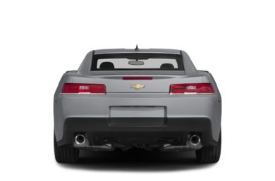 Rear Profile  2015 Chevrolet Camaro
