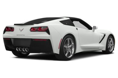 3/4 Rear Glamour  2015 Chevrolet Corvette