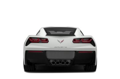 Rear Profile  2015 Chevrolet Corvette