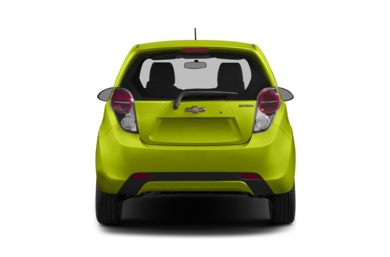 Rear Profile  2015 Chevrolet Spark