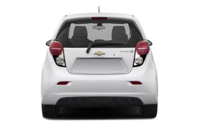 Rear Profile  2014 Chevrolet Spark EV