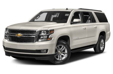 3/4 Front Glamour 2016 Chevrolet Suburban