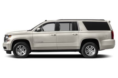 90 Degree Profile 2015 Chevrolet Suburban 1500
