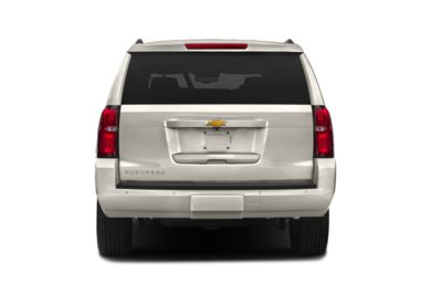 Rear Profile  2015 Chevrolet Suburban 1500