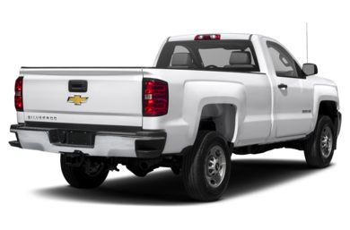 3/4 Rear Glamour  2015 Chevrolet Silverado 2500HD