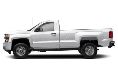 90 Degree Profile 2015 Chevrolet Silverado 2500HD