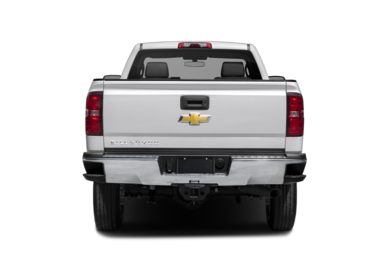 Rear Profile  2015 Chevrolet Silverado 2500HD