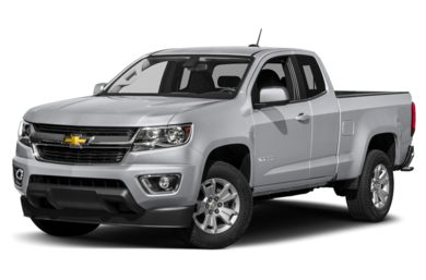 3/4 Front Glamour 2015 Chevrolet Colorado