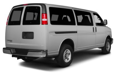 3/4 Rear Glamour  2015 Chevrolet Express 2500