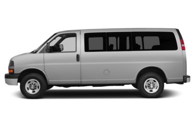 90 Degree Profile 2015 Chevrolet Express 2500