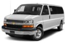 3/4 Front Glamour 2016 Chevrolet Express 2500