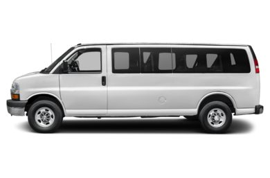 90 Degree Profile 2016 Chevrolet Express 2500
