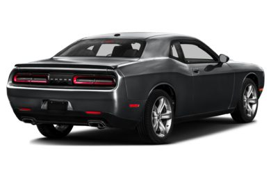 3/4 Rear Glamour  2016 Dodge Challenger