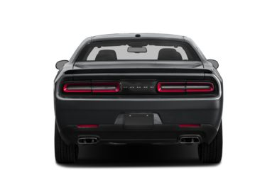 Rear Profile  2016 Dodge Challenger