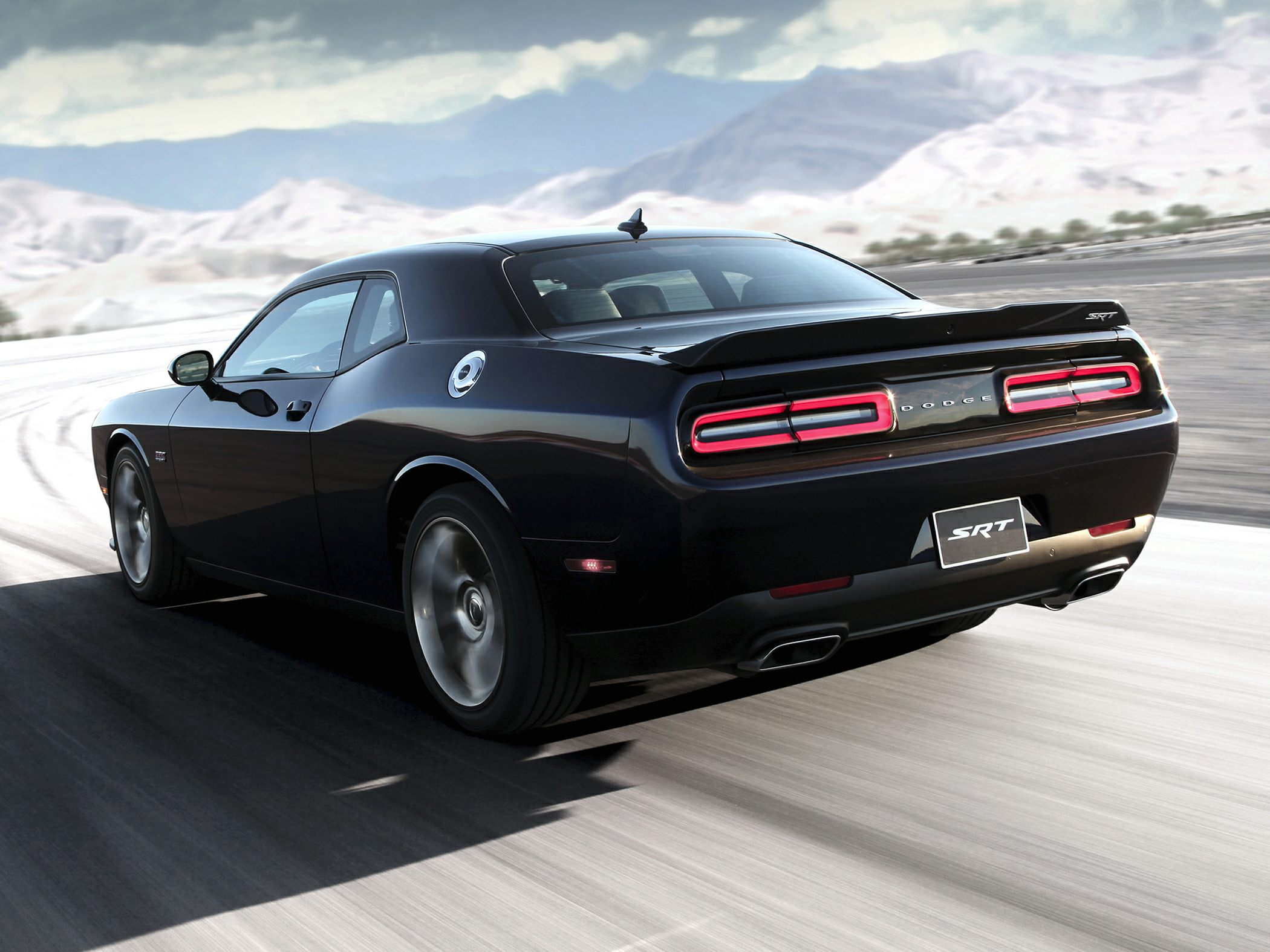 Dodge Challenger Rear Quarter