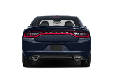 Rear Profile  2015 Dodge Charger