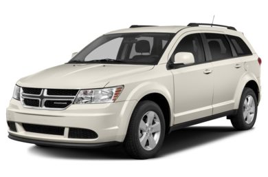 3/4 Front Glamour 2015 Dodge Journey