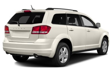 3/4 Rear Glamour  2015 Dodge Journey
