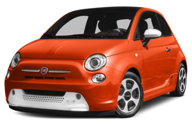 3/4 Front Glamour 2015 FIAT 500e