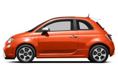 90 Degree Profile 2015 FIAT 500e