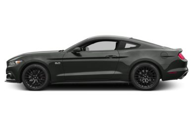 90 Degree Profile 2015 Ford Mustang