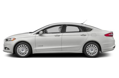 90 Degree Profile 2015 Ford Fusion Hybrid