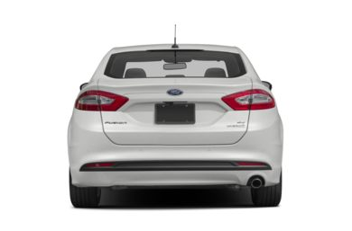 Rear Profile  2015 Ford Fusion Hybrid