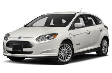 3/4 Front Glamour 2017 Ford Focus Electric