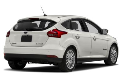 3/4 Rear Glamour  2017 Ford Focus Electric