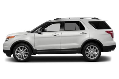 90 Degree Profile 2015 Ford Explorer