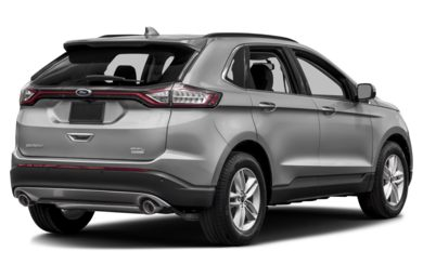 3/4 Rear Glamour  2015 Ford Edge