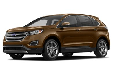 3/4 Front Glamour 2015 Ford Edge