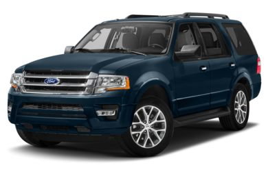 3/4 Front Glamour 2015 Ford Expedition