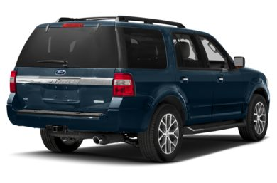 3/4 Rear Glamour  2015 Ford Expedition