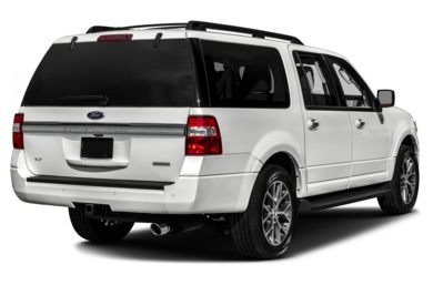 3/4 Rear Glamour  2017 Ford Expedition EL