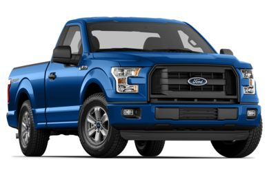 3/4 Front Glamour 2015 Ford F-150