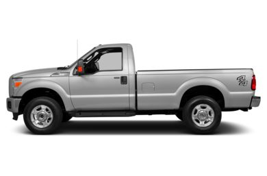 90 Degree Profile 2015 Ford F-250