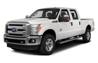 3/4 Front Glamour 2015 Ford F-350