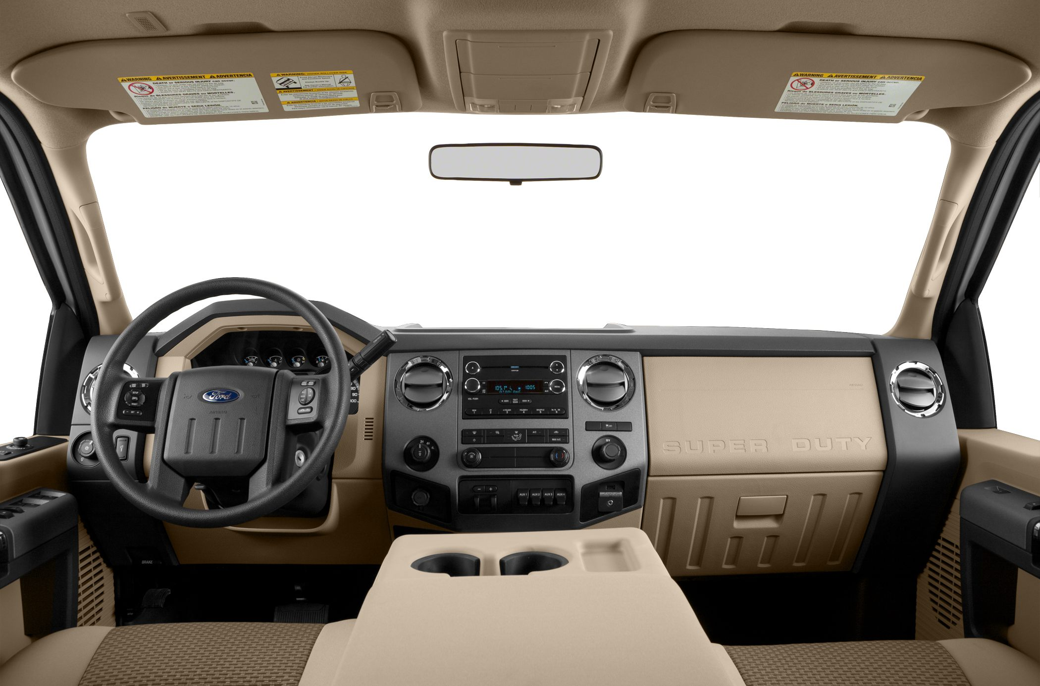 2015 Ford F-350 Front Interior
