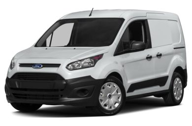 3/4 Front Glamour 2015 Ford Transit Connect