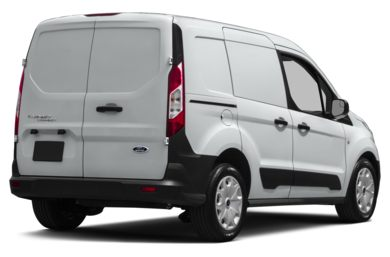 3/4 Rear Glamour  2015 Ford Transit Connect