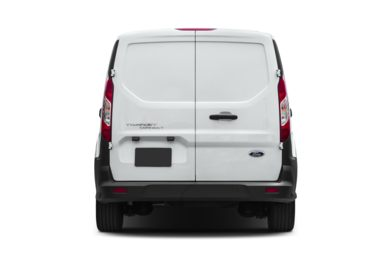 Rear Profile  2015 Ford Transit Connect