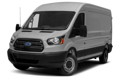 3/4 Front Glamour 2015 Ford Transit-150