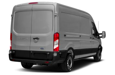 3/4 Rear Glamour  2015 Ford Transit-150