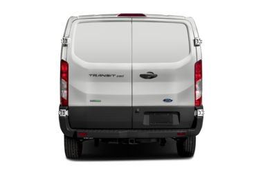 Rear Profile  2017 Ford Transit-250